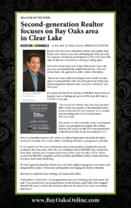 Houston Chronicle Realtor of the Week Dan McCarver