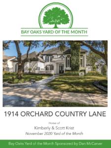 photo of yard of the month 1914 orchard country lane